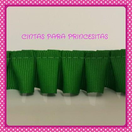 Plisado Grosgrain Verde Andalucia 22mm