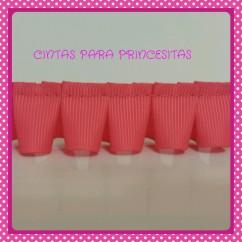 PLISADO GROSGRAIN ROSA CHICLE 22 mm