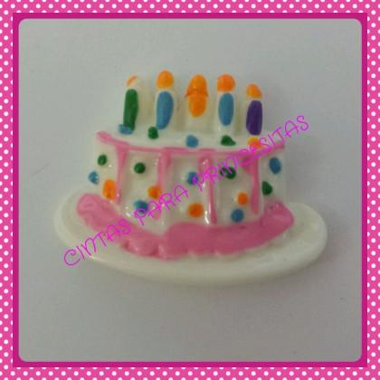 Resina Tarta de cumpleaños