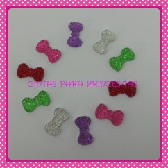 RESINA MINI LACITOS STRASS  packs de 10