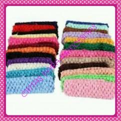 Diadema Elastico Crochet