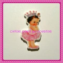 RESINA BABY  PRINCESS CON CORONA