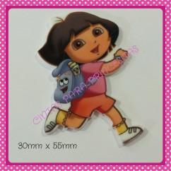 Resina Dora con mochila