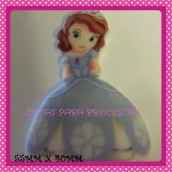 Resina Princesa sofia Plana