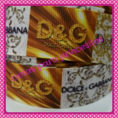 CINTA D&G GOLD