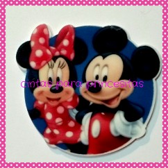 RESINA MINNIE & MICKEY