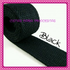 Canvas 32mm Negro