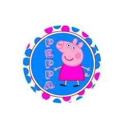 PEPPA PIG FONDO AZULON