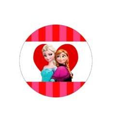 ANNA Y ELSA CORAZON