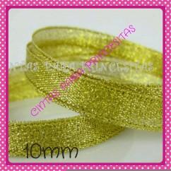 Cinta lamé oro 9mm